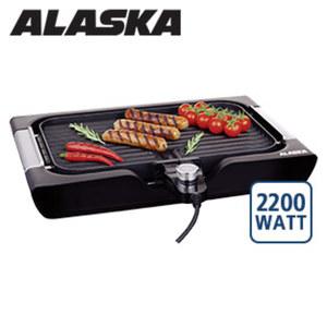 Tischgrill TG 2200 · abnehmbarer Thermostat · 4 Temperaturstufen · antihaftbeschichtete Wende- Grillplatte - glatt oder gerippt