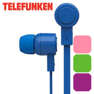 Stereo-Ohrhörer KH2003 · integr. Mikrofon und Rufannahmetasten · inkl. 2 Paar Ersatz-Silikonohrstöpsel (Größe S und L)
