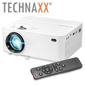 "Mini LED Beamer TX113 · Projektionsgröße 32"" - 176"" · native Auflösung 800x480 Pixel · integr. 2W Stereo-Lautsprecher · LED-Lebensdauer bis zu 40.000 Std."