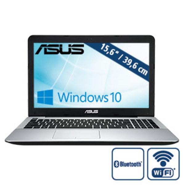 Notebook F555QA-XO322T · HD-Display · AMD A10-9620P (bis zu 3,6 GHz) · AMD Radeon™ R5 Graphics · USB 2.0, USB 3.0