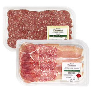 Antipasto Misto oder Salami Felino jede 120-g-SB-Packung