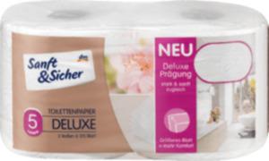 Sanft&Sicher Toilettenpapier Deluxe 5lg. 2x125 Bl.
