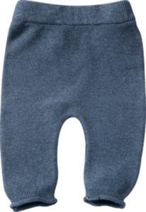 ALANA Baby-Hose, Gr. 62, in Bio-Baumwolle und Schurwolle, blau, für Mädchen und Jungen