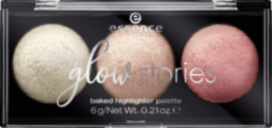 essence cosmetics Highlighterpalette glow stories baked sparkle is the new black 01