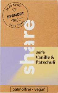 share Stückseife Vanille & Patschuli
