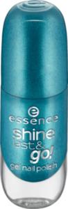essence cosmetics Nagellack shine last & go! gel nail polish grün 39