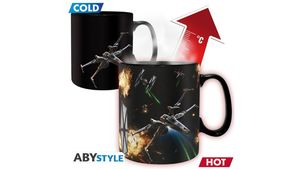 Star Wars Space Battle Thermoeffekt Tasse
