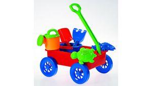 Müller - Toy Place - Sandset mit Wagen, 7-teilig