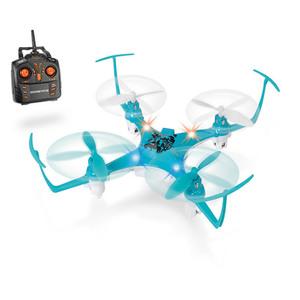 Dickie Toys R/C DT-BFQ Backflip Quadrocopter, ca. 17 cm, blau