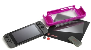 Snakebyte Tough Kit Nintendo Switch: pink