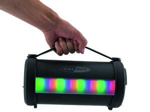 Caliber Tragbarer BT Lautsprecher mit LED HPG523BTL