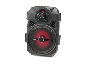 Caliber Tragbarer Bt Lautsprecher Mit Bunten Leds; HPA001BT
