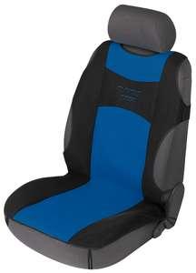 Walser Autositzbezug Tuning Star für Vordersitz 1-teilig blau/schwarz, 12645
