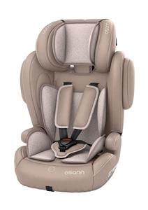 Osann Kindersitz - Flux Plus Beige Melange - Gruppe 1/2/3 von ca. 8 Monaten bis 12 Jahre (9 – 36 kg)