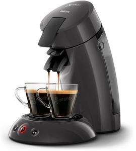 Philips Senseo Kaffeepadmaschine HD 6553/50 Original, Farbe dunkelgrau