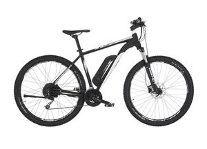 Fischer E-Mountainbike EM 1724, 29er, signalschwarz matt