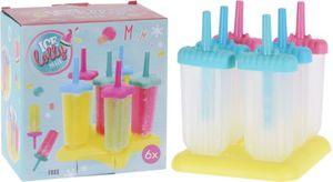 Eis am Stiel-Set - aus Kunststoff - 6 Stück - 1 Set