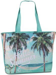 Strandtasche - Hello Summer - 59 x 40 x 20 cm