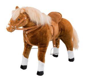 Pferd zum Reiten mit Sound - Haflinger - mit Sattel und Trense