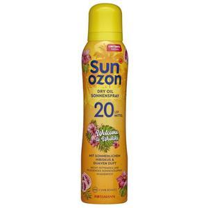 sunozon Dry Oil Sonnenspray Welcome to Waikiki LSF 20 1.99 EUR/100 ml