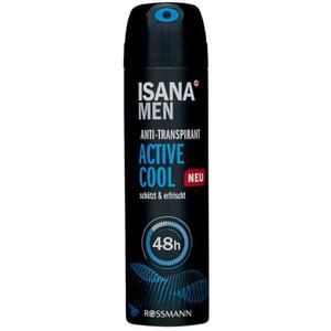 ISANA men Anti-Transparant Spray Active Cool 0.43 EUR/100 ml