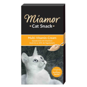 Miamor Cat Snack Multi-Vitamin Cream 11x6x15g