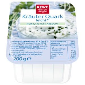 REWE Beste Wahl Kräuterquark leicht 200g