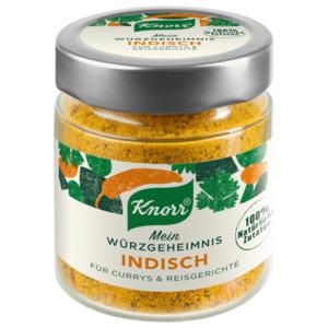 Knorr Mein Würzgeheimnis Indisch für Currys & Reisgerichte