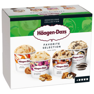 Häagen-Dazs Favorite Selection 4x95ml