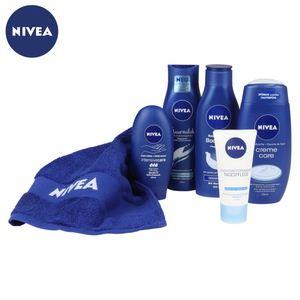 NIVEA Verwöhnpflege-Set mit Gästehandtuch