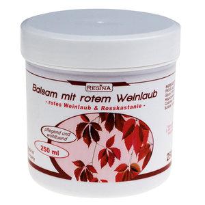 Balsam mit rotem Weinlaub - 250 ml