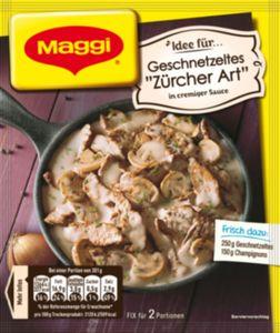 Maggi Fix Züricher Geschnetzeltes 52 g