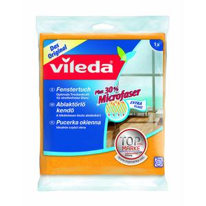 Vileda Fenstertuch mit 30 % Microfaser