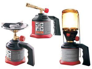 POWERFIX® Kartuschen-Lötlampe / Campingkocher / -lampe
