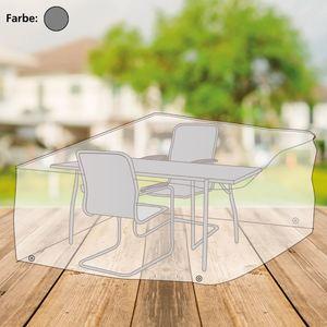 Abdeckhaube für Sitzgruppe rechteckig 170x95x150cm Anthrazit