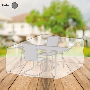Abdeckhaube für Sitzgruppe rechteckig 230x95x160cm Anthrazit