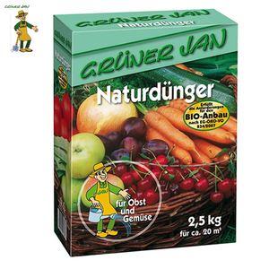 Grüner Jan Naturdünger Bio-Anbau 2,5kg