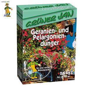 Grüner Jan Geranien- und Pelargoniendünger 2,5kg