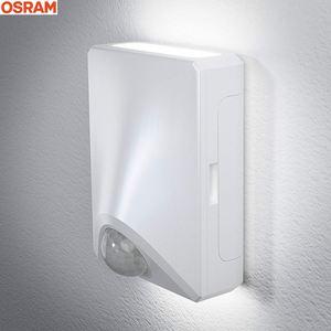 Osram LED-Außenwandleuchte UpDown mit Bewegungssensor Weiß