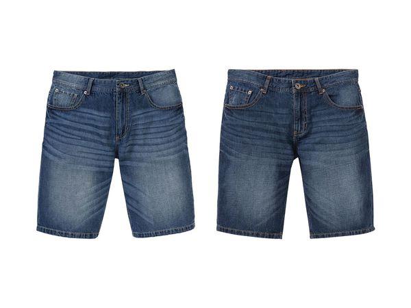 LIVERGY® Herren Sommer-Jeansbermudas