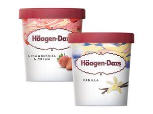 Häagen-Dazs Eiscreme