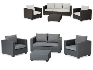 Allibert Lounge Set Salta mit Sunbrella Kissen