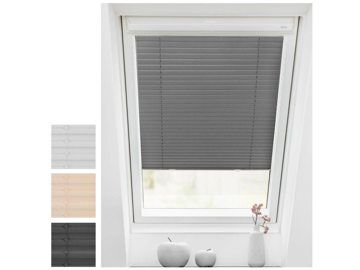 Bild 1 von Lichtblick Dachfenster Plissee Haftfix, ohne Bohren