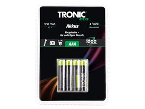 TRONIC® Ready to use NiMH-Akkus
