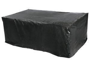 tepro Universal Abdeckhaube Sitzgruppe rechteckig, schwarz