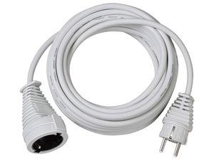 brennenstuhl Qualitäts-Kunststoff-Verlängerungskabel 10m H05VV-F 3G1,5