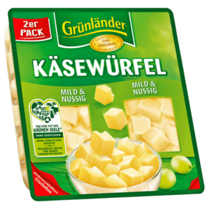 Grünländer Käsewürfel mild & nussig