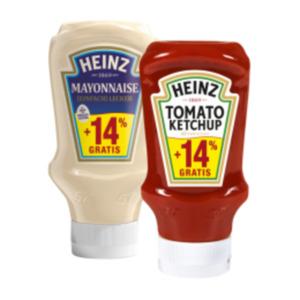 Heinz Ketchup oder Mayonnaise