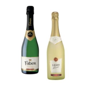 Light Live alkoholfreier Sekt, Wein oder Faber Sekt Krönung