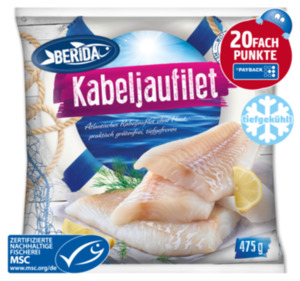 BERIDA Atlantisches Kabeljaufilet